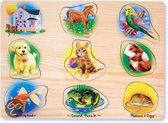 Dieren Puzzel met Geluid