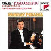 Mozart: Piano Concertos no 21 & 27 / Perahia, CO of Europe