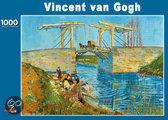 Puzzel Vincent van Gogh: De Brug te Arles 1000 stukjes