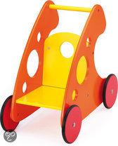 Bayer Poppenwagen Modern Geel Oranje