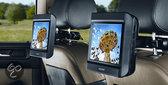 Nextbase Click 9 Lite Duo - Portable DVD-speler met 2 schermen en 1 speler - 9 inch - Zwart