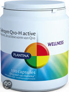Plantina Q10 H Active - 50mg - 130 Capsules - Voedingssupplement