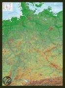 Deutschland 1 : 1 200 000 mit Rahmen