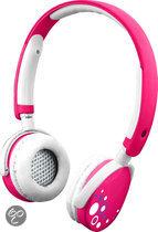 Kurio hoofdtelefoon roze