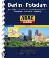 ADAC StadtAtlas Berlin / Potsdam mit Brandenburg a.d. Havel, Eberswalde, Frankfurt
