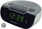Salora CR612 - Wekker Radio - Wit