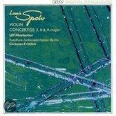 Violin Concertos 3, 6 & A Major