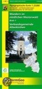 Nördlicher Westerwald 1. Altenkirchen, Hamm (Sieg) 1 : 25 000. Wanderkarte