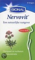 Bional Nervovit - Ontspannen en concentratie  - Met valeriaan - 45 stuks