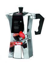 Kitchen Basics Espressomaker - aluminium - 9 kops