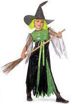 Carnavalskleding heks Witchcraft meisje Maat 152