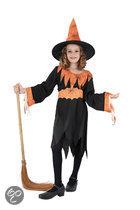 Halloween Heks - Kostuum - Maat 116-122