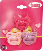 Bayer Fopspeen voor Poppen - 3 stuks