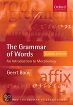 The Grammar Of Words