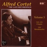 Late Recordings Vol. 3, The (Cortot)