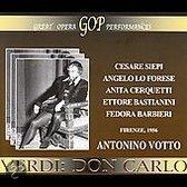 Verdi: Don Carlos (Firenze, June 6,