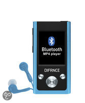 Difrnce MP1811 - Bluetooth MP4 -speler - 4 GB - Blauw
