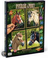 Schipper Schilderen op Nummer - Paarden & Pony