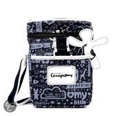Little Company - Today Cartoon Cooling Bag Luiertas - Zwart/Blauw