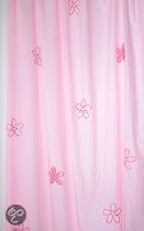 Taftan - Gordijn beads flower 145 x 280 cm - Roze
