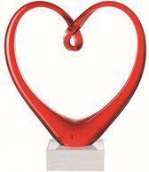 Leonardo Glassculptuur Heart