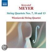 Meyer: String Quartets 3