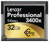Lexar Cfast 2.0 Professional CompactFlash kaart 32 GB