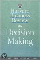 Harvard Business Review  On Decision Making