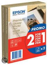 Epson S042167 Fotopapier - 10x15 / 2 x 40 vellen