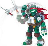 Teenage Mutant Hero Turtles Flingers Raphael 14cm - Actiefiguur