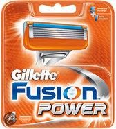 Gillette Fusion Power -4 stuks-Scheermesjes