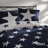 Day Dream Stars dekbedovertrek - Navy - Lits-jumeaux (240x200/220 cm + 2 slopen)
