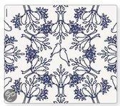 Modern Twist Birds n Trees Placemat - 40 x 35 cm - Indigo