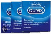 Durex Extra Safe - 3 x 3 stuks - Condooms