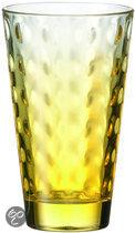 Leonardo Optic Longdrinkglas - Geel - 6 stuks