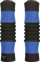 Dyto Handvat - Foam - Zwart/Blauw - 2 stuks