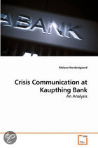 Crisis Communication at Kaupthing Bank