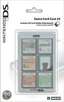 Game Card Case Voor 24 DS Games - Wit
