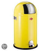 Wesco Kickboy Pedaalemmer - 40 l - Lemon Yellow