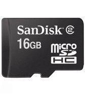 SanDisk Micro SDHC 16GB + Adapter Bulk