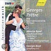Ravel: Daphnis et Chloe Suite no 2 etc; Bizet / Georges Pretre et al