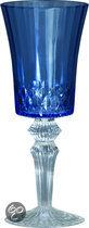 Baci Milano Chic & Vip Wijnglas - Blauw - Set van 6 stuks