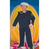 Kostuum Matroos - Leeftijd 7 tot 10 Jaar