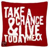 Mexx Today Cushion Rood - 40 X 40cm