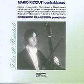 Mario Ricciuti, Contrabbasso