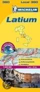 Michelin Lokalkarte Latium 1 : 200 000