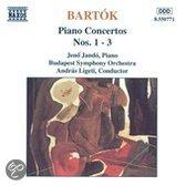 Bartok: Piano Concertos Nos. 1-3 / Jando, Ligeti, Budapest