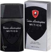 Lamborghini Mitico (Silver) for Men - 100 ml - Aftershave lotion