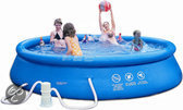Summer Stars Easy Set Up Zwembad - 305 cm - Inclusief 12V Filterpomp