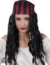 Pruik Piraat Pearl met bandana